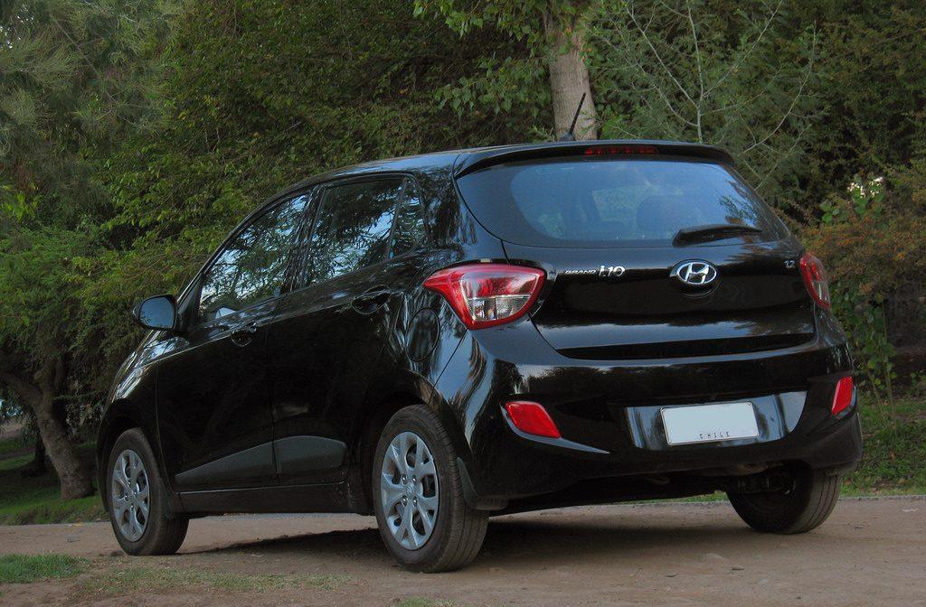 Hyundai i10 rear view