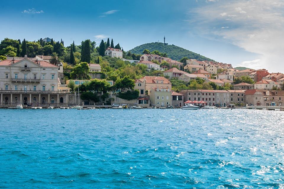 seaside in Dubrovnik